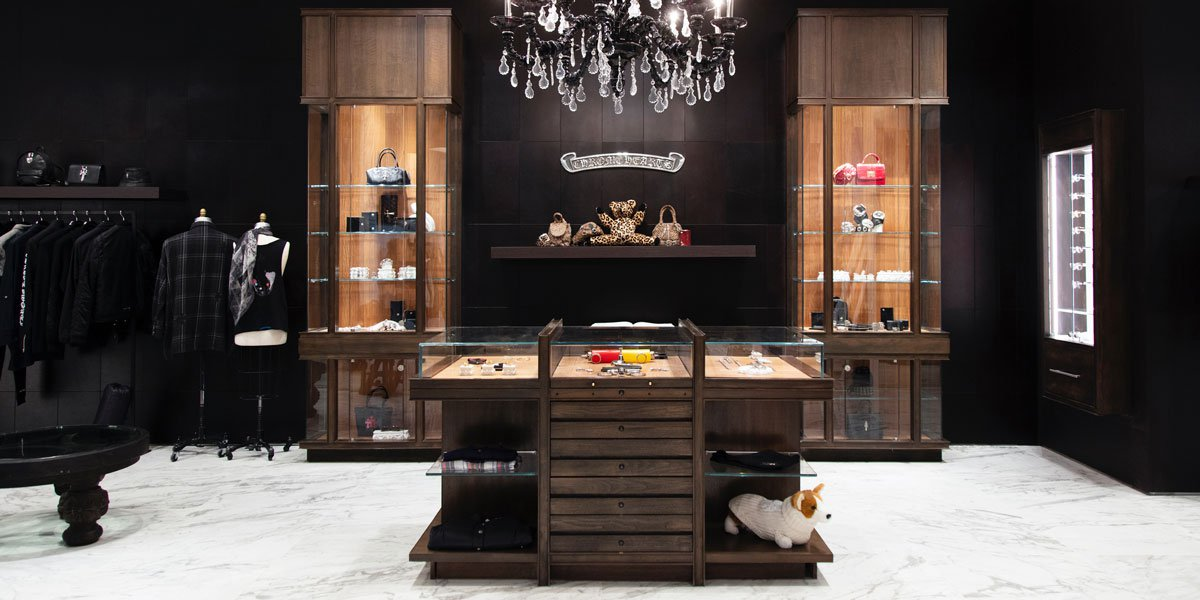 Chrome Hearts retail store