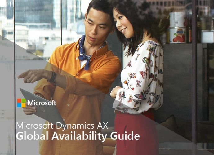 Microsoft Dynamics AX Global Availability Guide