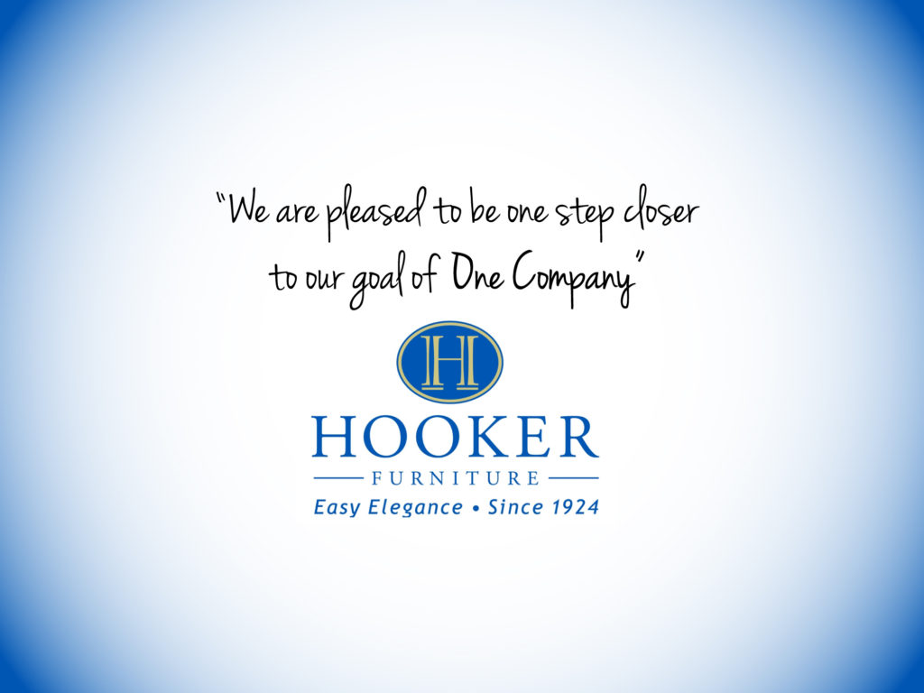 hooker furniture one company erp crm project quote