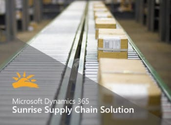 Sunrise 365 Supply Chain Solution