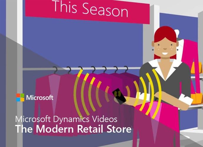 Video Microsoft Dynamics Modern Store
