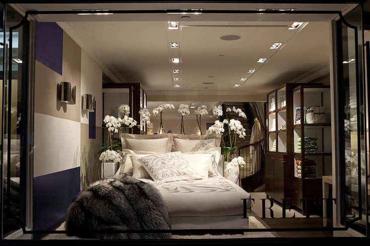 Frette Madison Avenue Flagship Store Window Display