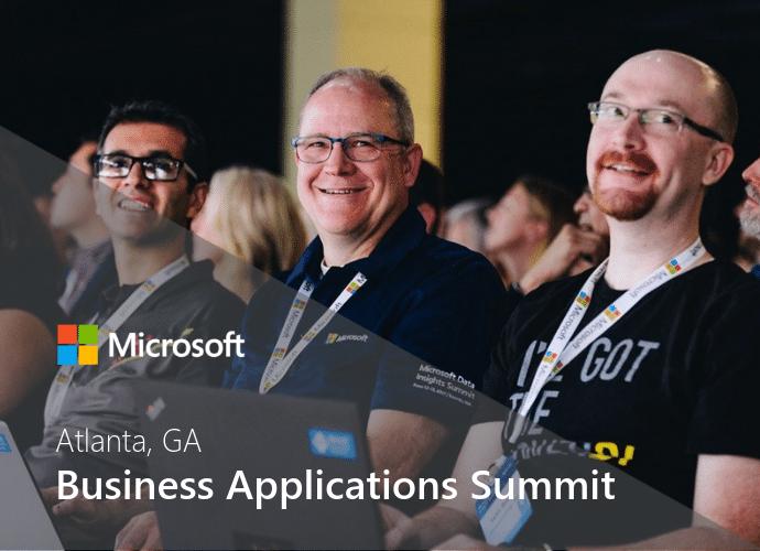Microsoft Business Applications Summit