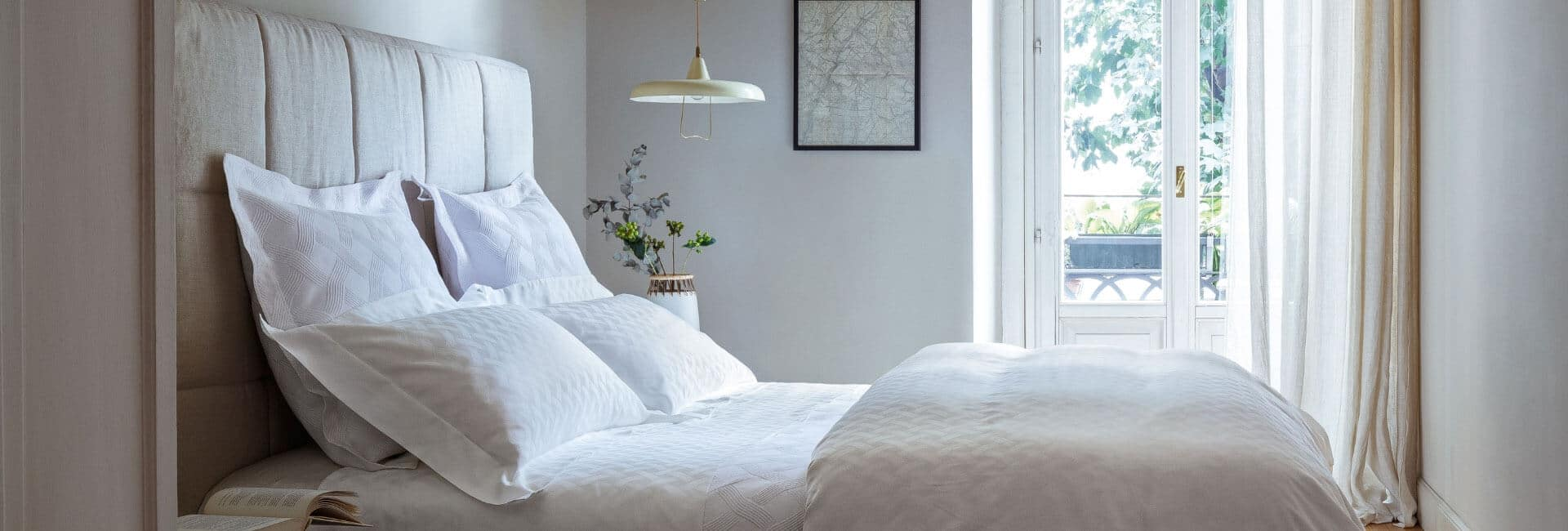 Frette bedding photo