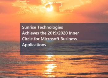 Sunrise wins 2019/2020 Inner Circle Award from Microsoft