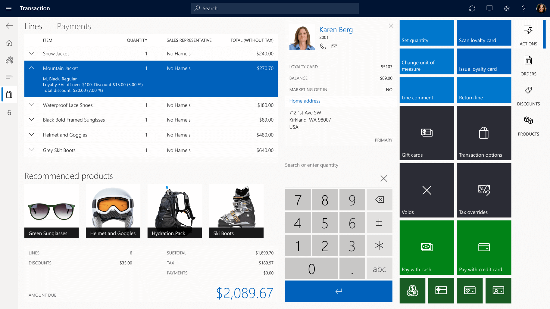 dynamics 365 commerce retail pos