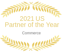Award image for US Partner of the Year, Commerce